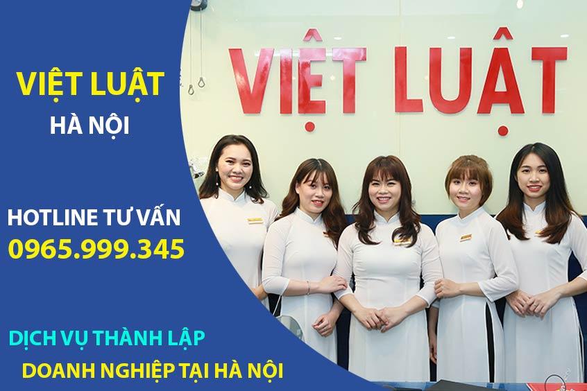Dịch vụ thành lập doanh nghiệp tại Hà Nội