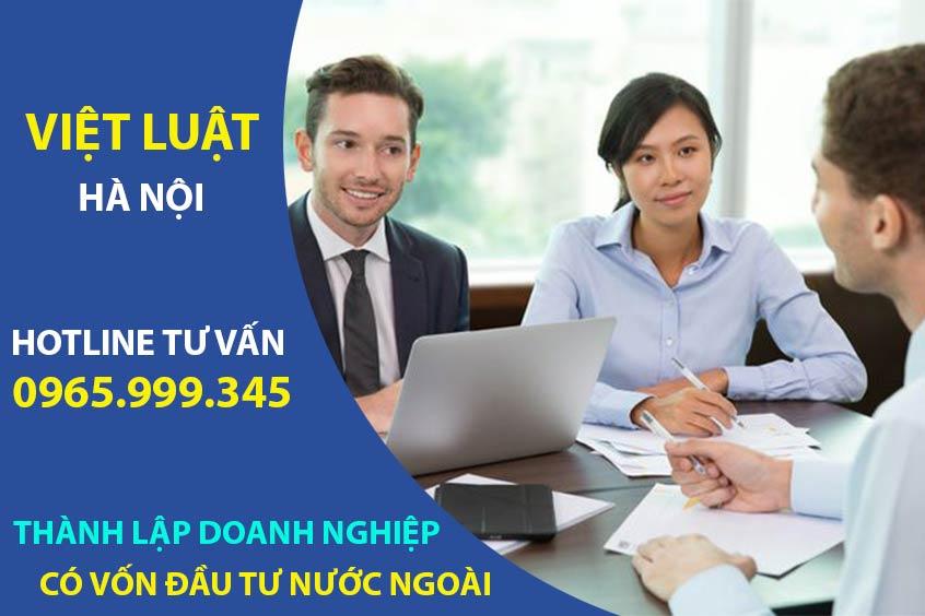Thành lập công ty có vốn đầu tư nước ngoài tại Việt Nam