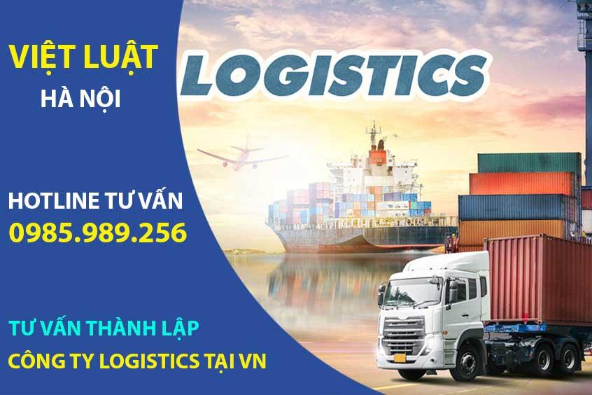 Tư vấn thành lập công ty Logistics tại Việt Nam