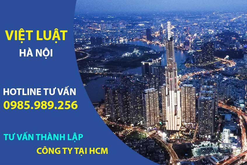 Tư vấn thành lập công ty tại Hồ Chí Minh